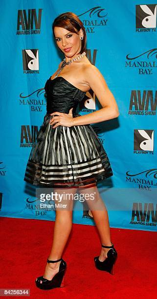 Adult film actress Dana DeArmond arrives at the 26th annual Adult Video News Awards Show at the Mandalay Bay Events Center January 10 2009 in Las...