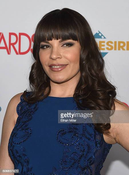 Adult film actress Dana DeArmond attends the 2016 Adult Video News Awards at the Hard Rock Hotel Casino on January 23 2016 in Las Vegas Nevada