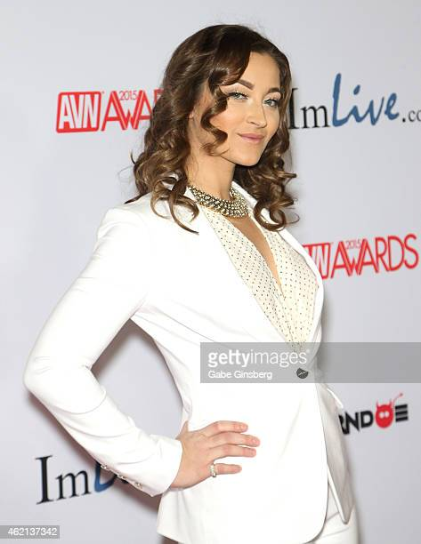 Adult film actress Dani Daniels arrives at the 2015 Adult Video News Awards at the Hard Rock Hotel Casino on January 24 2015 in Las Vegas Nevada