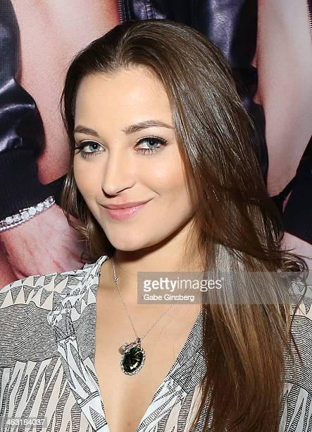Adult film actress Dani Daniels attends the 2014 AVN Adult Entertainment Expo at the Hard Rock Hotel Casino on January 16 2014 in Las Vegas Nevada