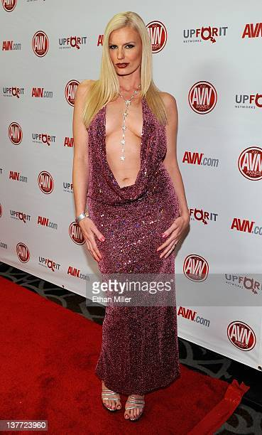 Adult Film Actress Darryl Hanah Arrives At The 29th Annual Adult Video News Awards Show At
