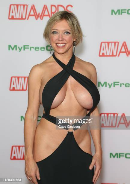 Adult film actress Dee Williams attends the 2019 Adult Video News Awards at The Joint inside the Hard Rock Hotel Casino on January 26 2019 in Las...