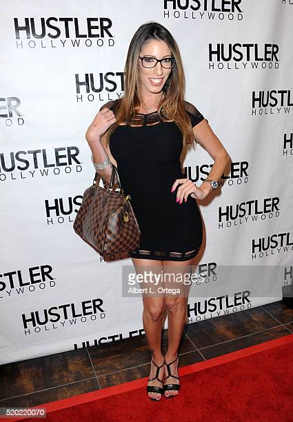 Adult film actress Diva Foxx at the Hustler Hollywood New Store Opening held at Hustler Hollywood on April 9 2016 in Los Angeles California