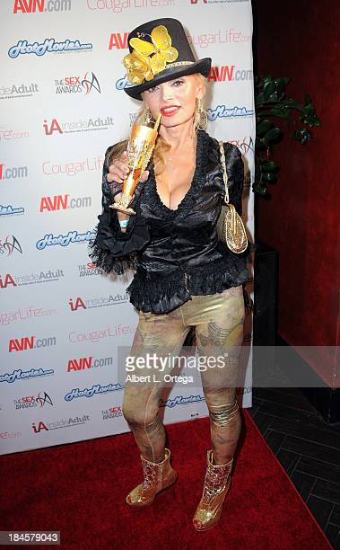 Adult film actress Erica McLean arrives for The 1st Annual Sex Awards 2013 held at Avalon on October 9 2013 in Hollywood California