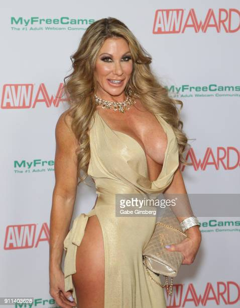 Adult film actress Farrah Dahl attends the 2018 Adult Video News Awards at the Hard Rock Hotel Casino on January 27 2018 in Las Vegas Nevada