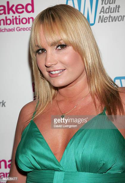 Adult film actress Flower Tucci attends the premiere of the documentary Naked Ambition An R Rated Look at an X Rated Industry at Laemmle's Sunset 5...