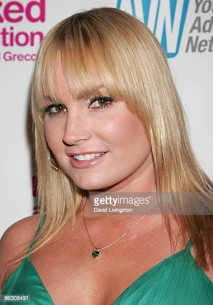 "Adult film actress Flower Tucci attends the premiere of the documentary ""Naked Ambition: An R Rated Look at an X Rated Industry"" at Laemmle's Sunset..."