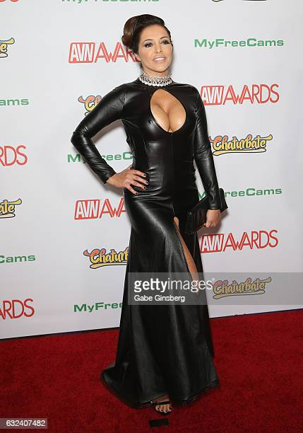 Adult film actress Francesca Le attends the 2017 Adult Video News Awards at the Hard Rock Hotel Casino on January 21 2017 in Las Vegas Nevada