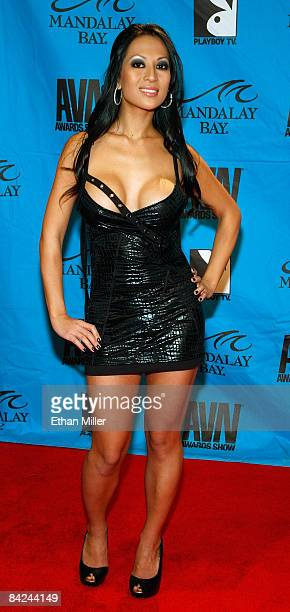 Adult film actress Gianna Lynn arrives at the 26th annual Adult Video News Awards Show at the Mandalay Bay Events Center January 10 2009 in Las Vegas...