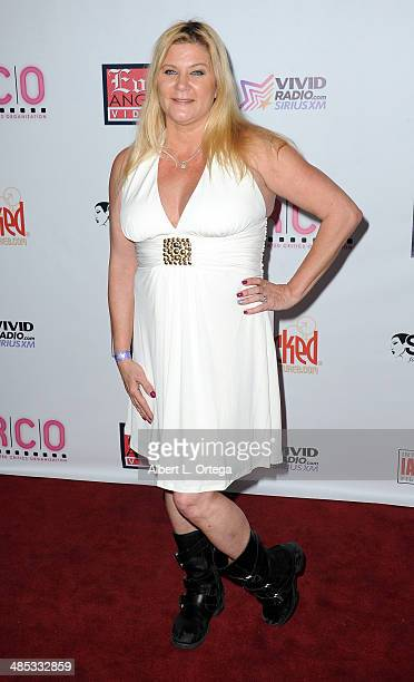 Adult film actress Ginger Lynn attends The BIG Annual 30th XRCO Awards hosted by Ron Jeremy held at OHM at Hollywood & Highland on April 16, 2014 in...