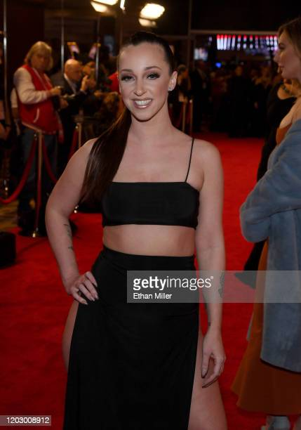 Adult film actress Jada Stevens attends the 2020 Adult Video News Awards at The Joint inside the Hard Rock Hotel Casino on January 25 2020 in Las...