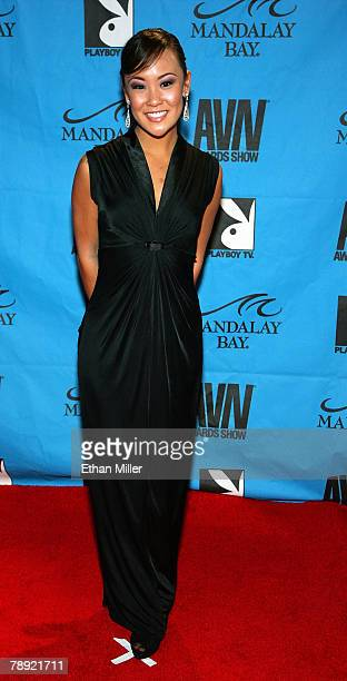 Adult Film Actress Jandi Lin Arrives At The 25th Annual Adult Video News Awards Show At