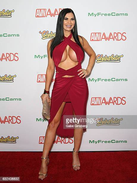 Adult film actress Jasmine Jae attends the 2017 Adult Video News Awards at the Hard Rock Hotel Casino on January 21 2017 in Las Vegas Nevada