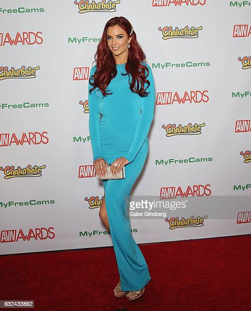 Adult film actress Jayden Cole attends the 2017 Adult Video News Awards at the Hard Rock Hotel Casino on January 21 2017 in Las Vegas Nevada
