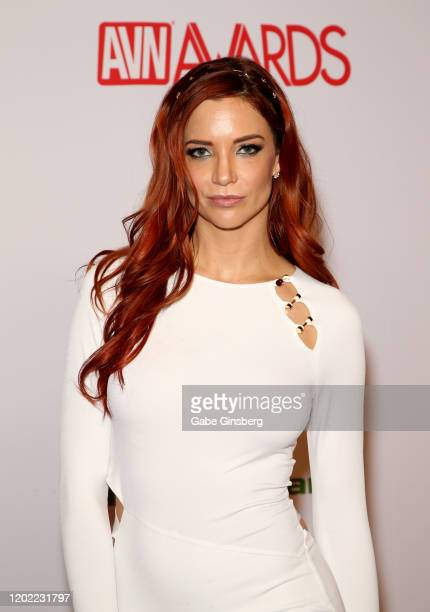 Adult film actress Jayden Cole attends the 2020 Adult Video News Awards at The Joint inside the Hard Rock Hotel Casino on January 25 2020 in Las...