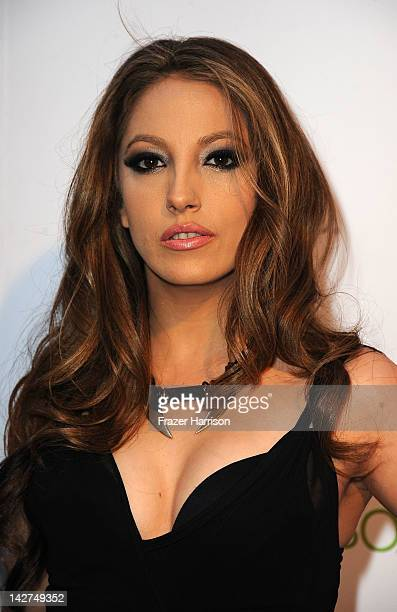 Adult film actress Jenna Haze arrives at the 2012 Revolver Golden Gods Award Show at Club Nokia on April 11 2012 in Los Angeles California
