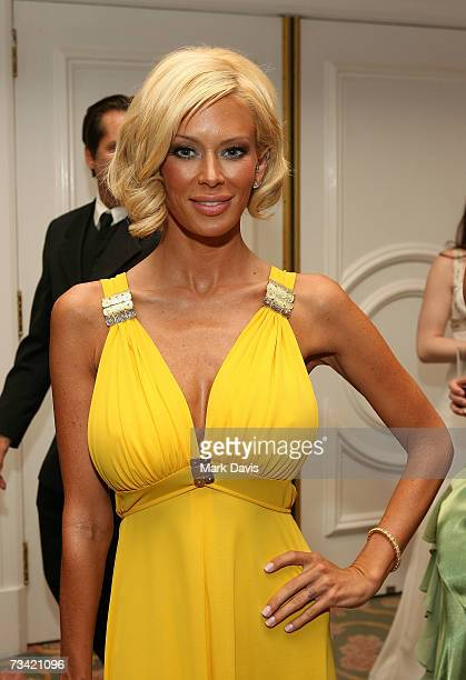 Adult film actress Jenna Jameson attends the 17th Annual Night Of 100 Stars Oscar Gala held at the Beverly Hills Hotel on February 25 2007 in Beverly...