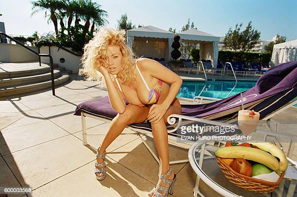 Adult film actress Jenna Jameson poses for a portrait in Los Angeles