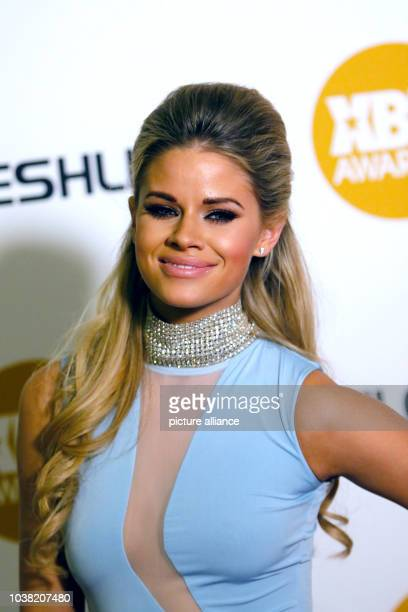 Adult film actress Jessa Rhodes arrives at the 2015 Xbiz Awards in Los Angeles, USA, on 15 January 2015. Photo: Hubert Boesl - NO WIRE SERVICE - |...