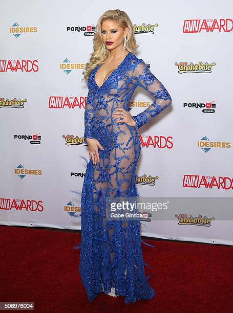 Adult film actress Jessa Rhodes attends the 2016 Adult Video News Awards at the Hard Rock Hotel & Casino on January 23, 2016 in Las Vegas, Nevada.