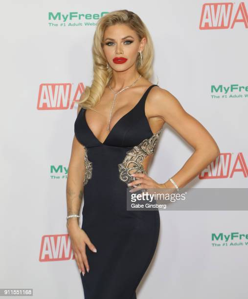 Adult film actress Jessa Rhodes attends the 2018 Adult Video News Awards at the Hard Rock Hotel & Casino on January 27, 2018 in Las Vegas, Nevada.