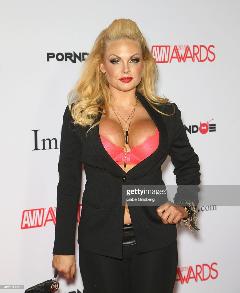 Adult film actress Jesse arrives at the 2015 Adult Video News Awards at the Hard Rock Hotel & Casino on January 24, 2015 in Las Vegas, Nevada.