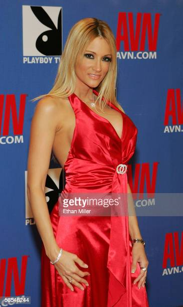 Adult film actress jessica drake arrives at the Adult Video News Awards Show at the Venetian Resort Hotel and Casino January 7 2006 in Las Vegas...