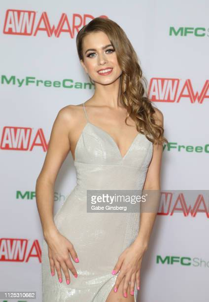 Adult film actress Jill Kassidy attends the 2019 Adult Video News Awards at The Joint inside the Hard Rock Hotel Casino on January 26 2019 in Las...
