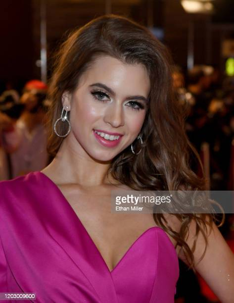 Adult film actress Jill Kassidy attends the 2020 Adult Video News Awards at The Joint inside the Hard Rock Hotel Casino on January 25 2020 in Las...