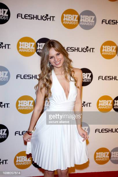 Adult film actress Jillian Janson arrives at the 2015 Xbiz Awards in Los Angeles USA on 15 January 2015 Photo Hubert Boesl NO WIRE SERVICE  | usage...
