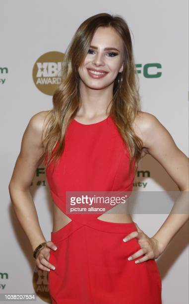 Adult film actress Jillian Janson arrives at the XBIZ Awards at Hotel Westin Bonaventure in Los Angeles USA on 12 January 2017 Photo Hubert Boesl/dpa...