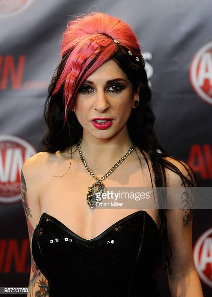 Adult film actress Joanna Angel arrives at the 27th annual Adult Video News Awards Show at the Palms Casino Resort January 9 2010 in Las Vegas Nevada