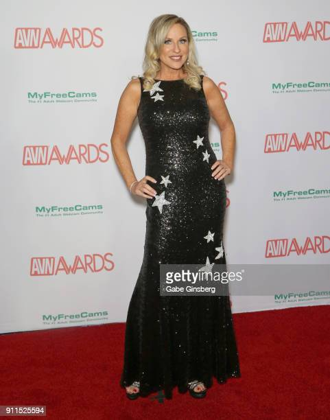 Adult film actress Jodi West attends the 2018 Adult Video News Awards at the Hard Rock Hotel Casino on January 27 2018 in Las Vegas Nevada
