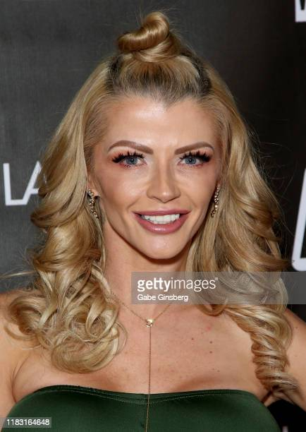Adult film actress Joslyn James attends the world premiere of the film LadyKillerTV at the Brenden Theatres inside Palms Casino Resort on October 23...