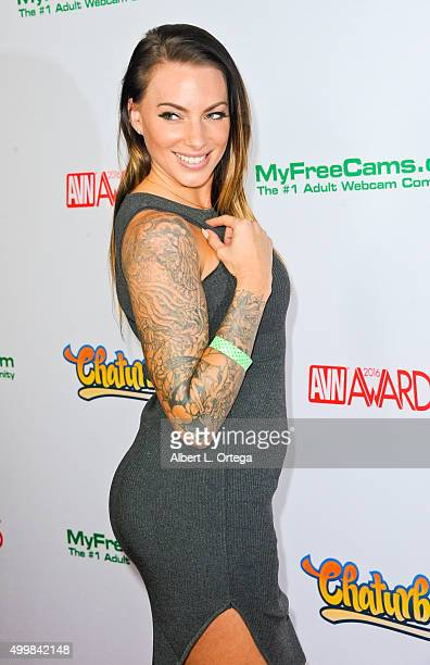 Adult film actress Juelz Ventura at the 2016 AVN Awards Nomination Party held at Avalon on November 19 2015 in Hollywood California