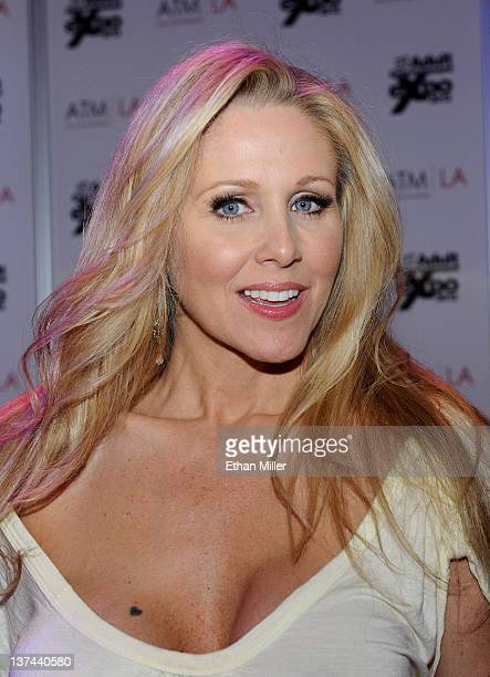 Adult film actress Julia Ann appears at the 2012 AVN Adult Entertainment Expo at The Joint inside the Hard Rock Hotel Casino January 20 2012 in Las...