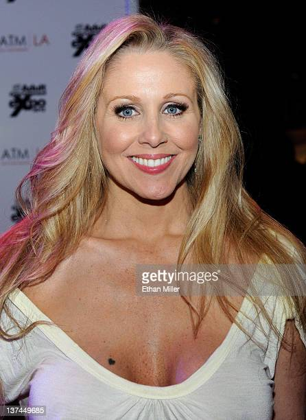 Adult film actress Julia Ann appears at the 2012 AVN Adult Entertainment Expo at The Joint inside the Hard Rock Hotel & Casino January 20, 2012 in...
