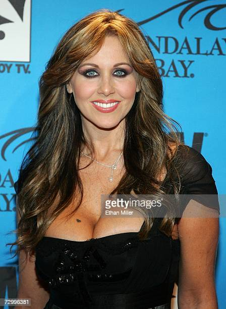 Adult film actress Julia Ann arrives at the 24th annual Adult Video News Awards Show at the Mandalay Bay Events Center January 13 2007 in Las Vegas...