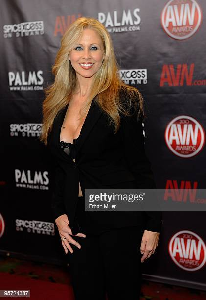 Adult film actress Julia Ann arrives at the 27th annual Adult Video News Awards Show at the Palms Casino Resort January 9 2010 in Las Vegas Nevada