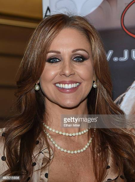 Adult film actress Julia Ann attends the 2015 AVN Adult Entertainment Expo at The Joint inside the Hard Rock Hotel Casino on January 22 2015 in Las...