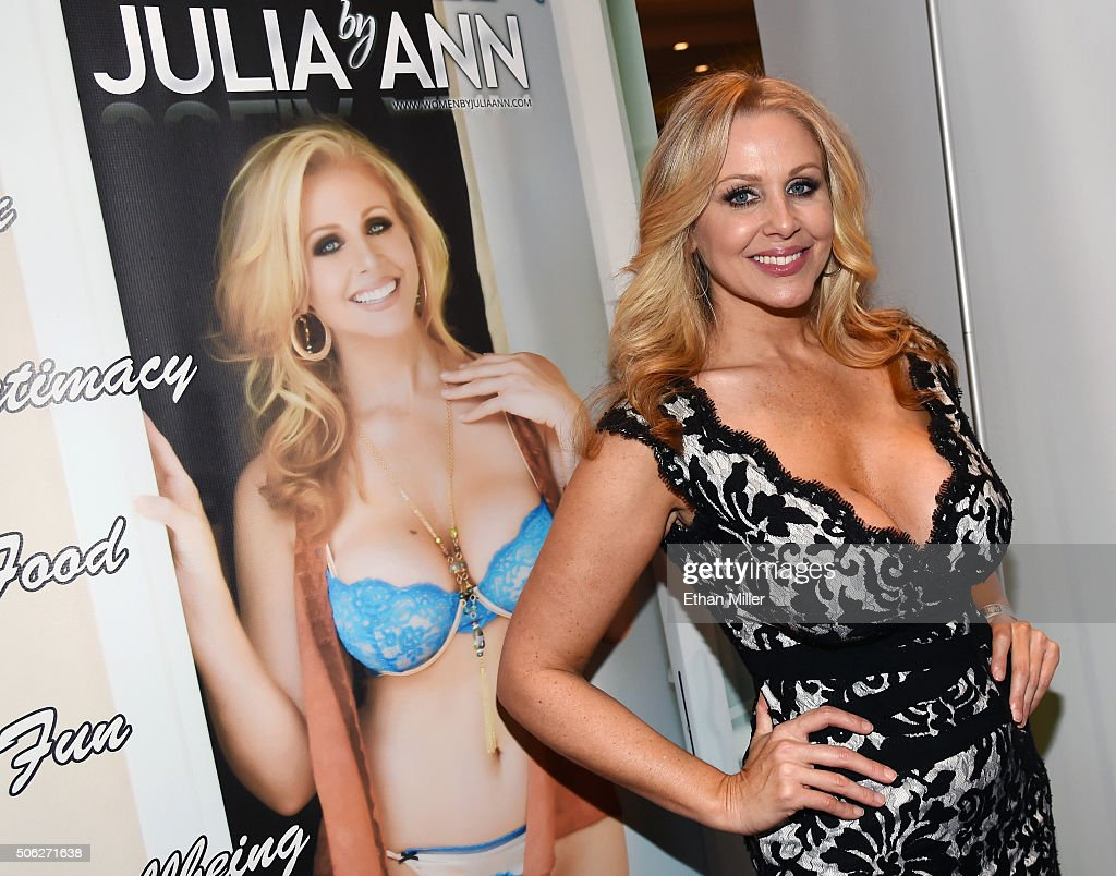 Adult film actress Julia Ann attends the 2016 AVN Adult
