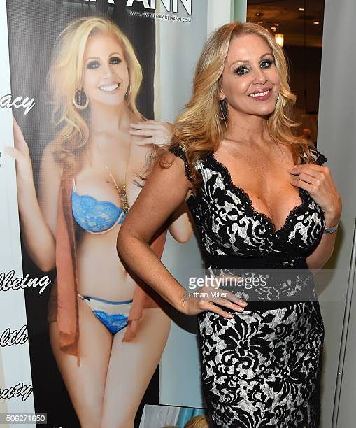 Adult film actress Julia Ann attends the 2016 AVN Adult Entertainment Expo at the Hard Rock Hotel Casino on January 21 2016 in Las Vegas Nevada
