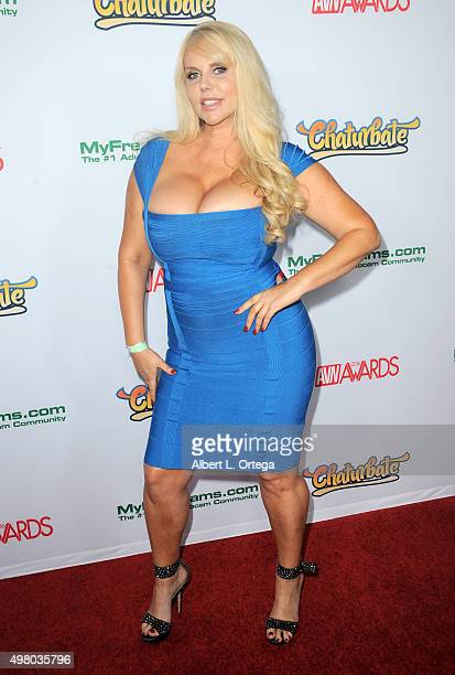 Adult film actress Karen Fisher at the 2016 AVN Awards Nomination Party held at Avalon on November 19 2015 in Hollywood California