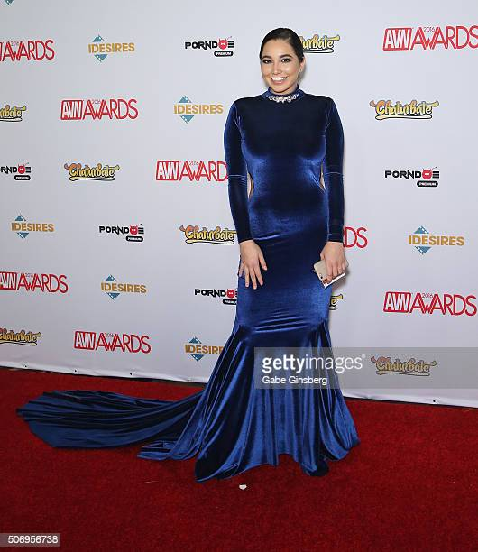 Adult film actress Karlee Grey attends the 2016 Adult Video News Awards at the Hard Rock Hotel & Casino on January 23, 2016 in Las Vegas, Nevada.
