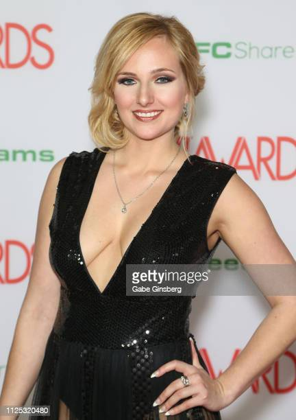 Adult film actress Kate England attends the 2019 Adult Video News Awards at The Joint inside the Hard Rock Hotel Casino on January 26 2019 in Las...