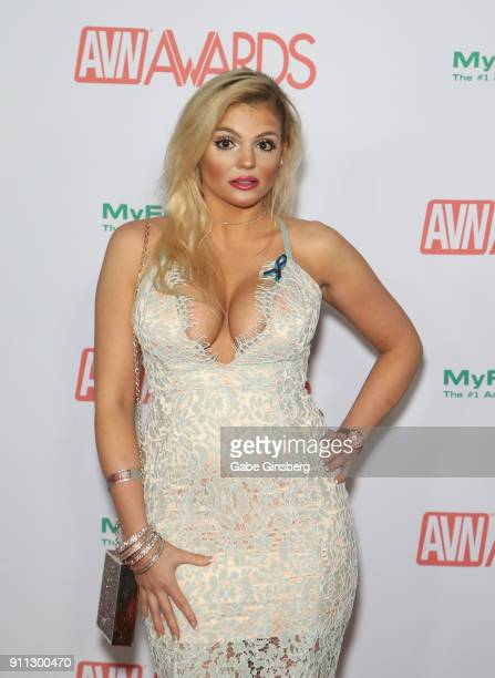 Adult film actress Katy Jayne attends the 2018 Adult Video News Awards at the Hard Rock Hotel Casino on January 27 2018 in Las Vegas Nevada