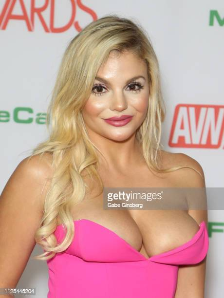Adult film actress Katy Jayne attends the 2019 Adult Video News Awards at The Joint inside the Hard Rock Hotel Casino on January 26 2019 in Las Vegas...