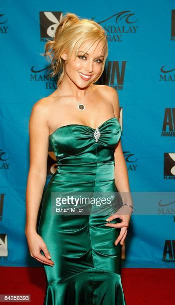 Adult film actress Kayden Kross arrives at the 26th annual Adult Video News Awards Show at the Mandalay Bay Events Center January 10, 2009 in Las...