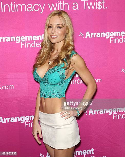 Adult film actress Kayden Kross attends the 2015 AVN Adult Entertainment Expo at the Hard Rock Hotel Casino on January 21 2015 in Las Vegas Nevada