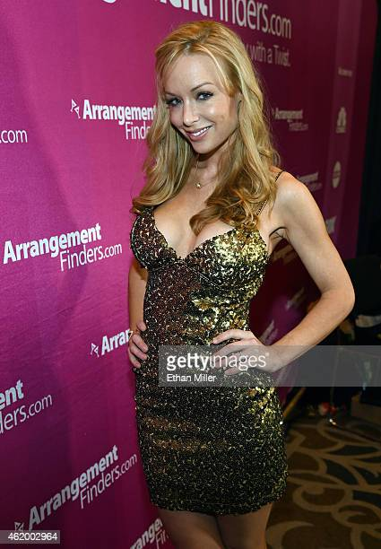 Adult film actress Kayden Kross attends the 2015 AVN Adult Entertainment Expo at the Hard Rock Hotel Casino on January 22 2015 in Las Vegas Nevada